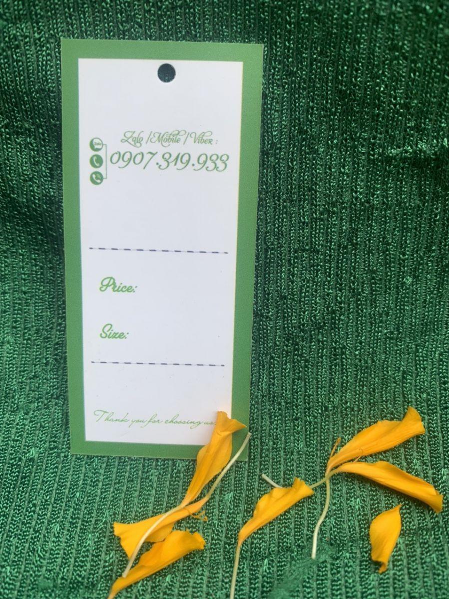 In tag quần áo Hồ Chí Minh